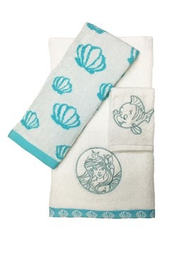 LITTLE MERMAID ARIEL 3PC TOWEL