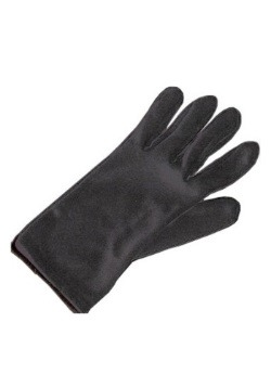 Adult Black Costume Gloves