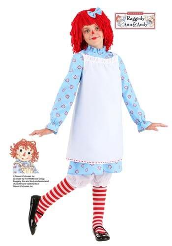 Kid's Exclusive Raggedy Ann Costume