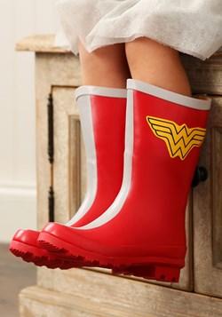 Girls Wonder Woman Rain Boots