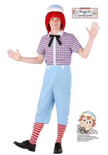 Raggedy Andy Costume for Men