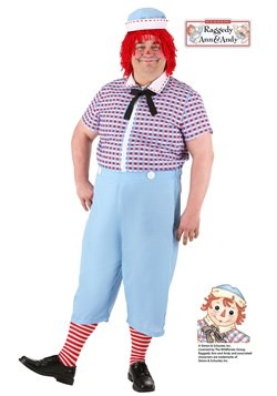 Plus Size Men's Raggedy Andy Costume