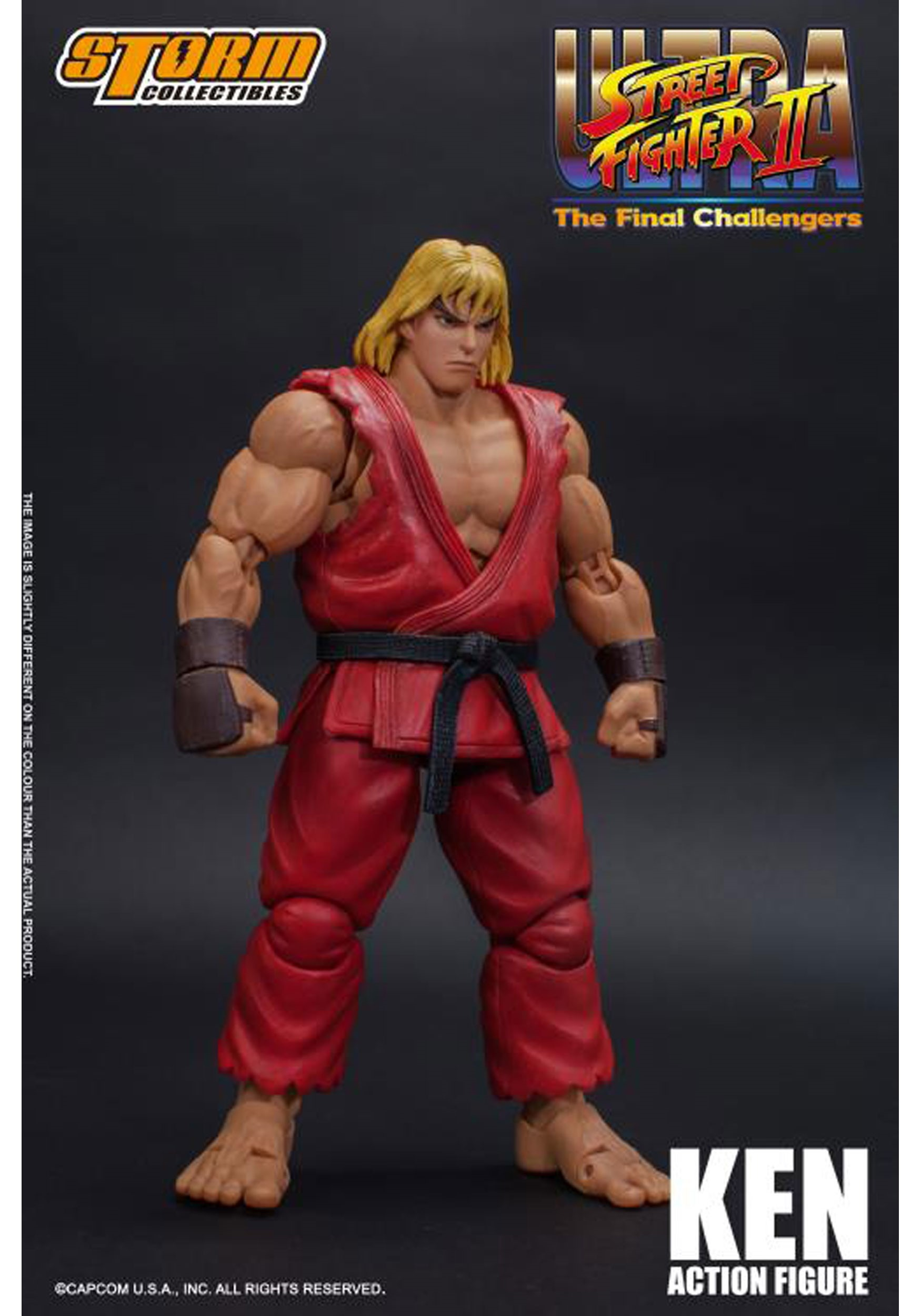 Ultra Street Fighter Ii Ken Action Figure Collectible