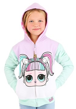 LOL Suprise Big Face Girls Hoodie
