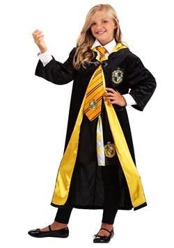 Kids Harry Potter Deluxe Hufflepuff Robe alt3
