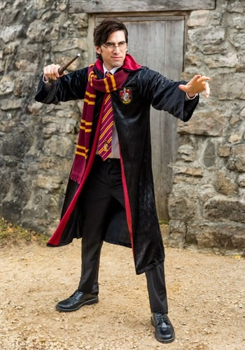 Harry Potter Adult Deluxe Gryffindor Robe Plus Size