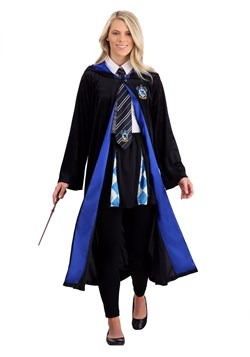 Harry Potter Adult's Plus Size Deluxe Ravenclaw Robe