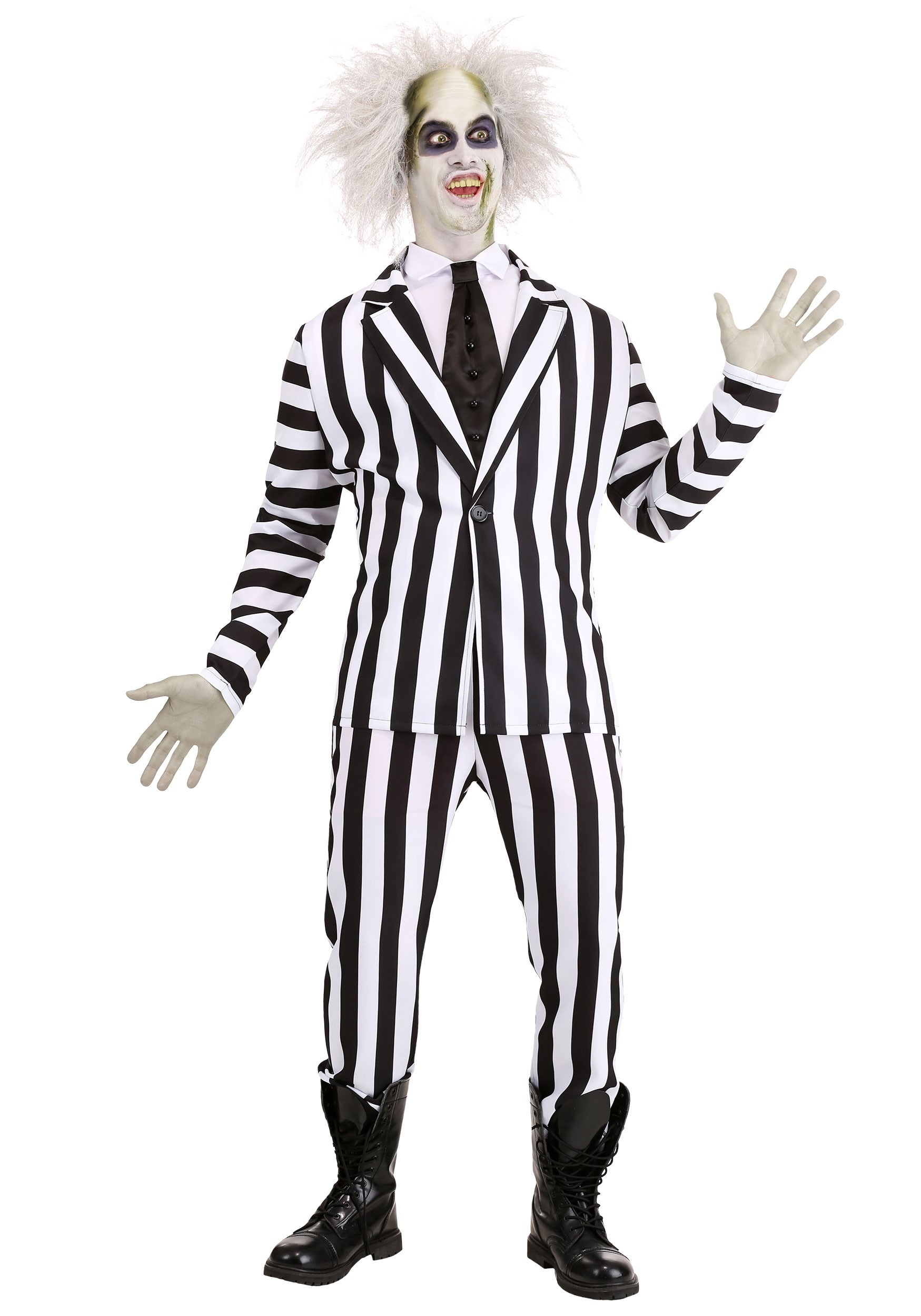 Beetlejuice Costume For Adults