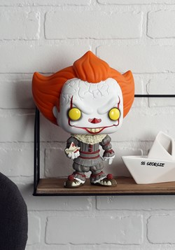 """Pop! Movies: It: Chapter 2- 10"""" Pennywise w/ Boat"""