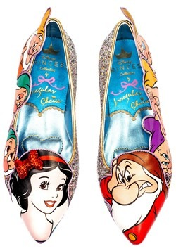 Irregular Choice Snow White Whistle While You Work Flats
