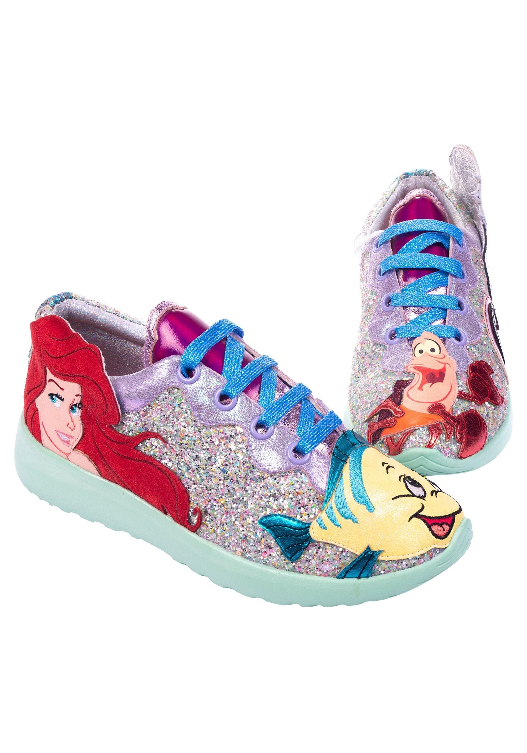 Little Mermaid Total Catch Sneakers