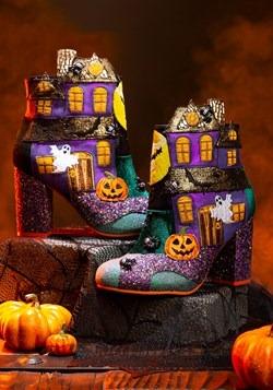Irregular Choice 'Ghost House' Halloween Heeled Boots