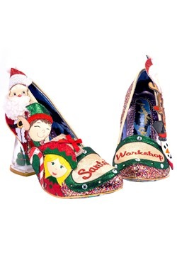 Irregular Choice Santas Wokshop Christmas Heel
