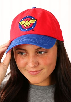 Wonder Woman Color Block Baseball Cap Update