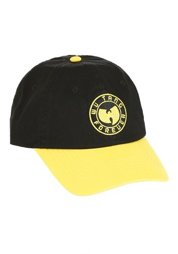 Wu Tang Forever Yellow/Black Baseball Cap