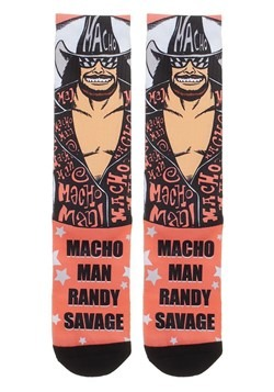 WWE Randy Savage Sublimated Socks