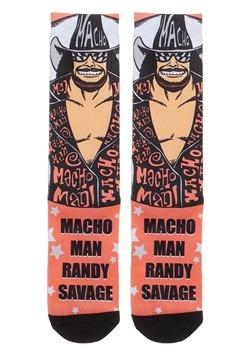 WWE Randy Savage Sublimated Socks