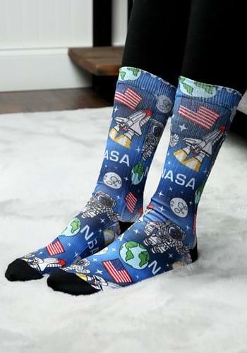 NASA Americana Sublimated Socks