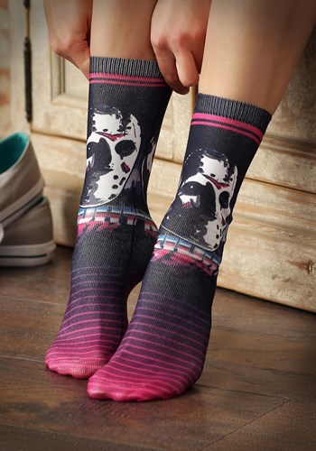 Friday the 13th Jason 80s Neon Sublimated Sock Update
