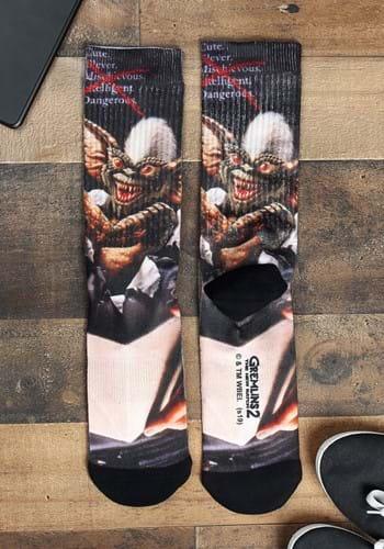 Gremlins 2 Poster Sublimated Socks