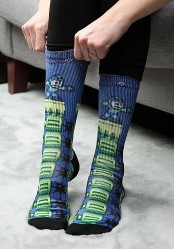 Mega Man Sublimated Socks