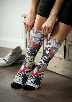 Nightmare Before Christmas Character Socks Upd