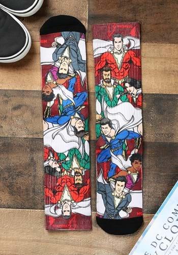 Shazam Group Colalge Sublimated Socks