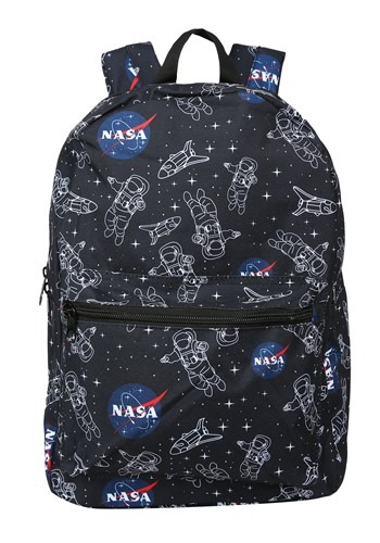 NASA Astronaut Space Print Backpack