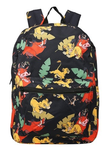 Lion King Classic Print Backpack