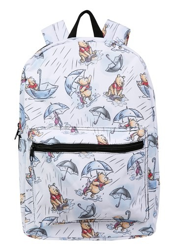 Winnie the Pooh Rain Print Backpack