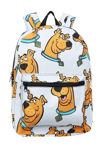 Grey Scooby Doo Floating Heads Backpack Main UPD