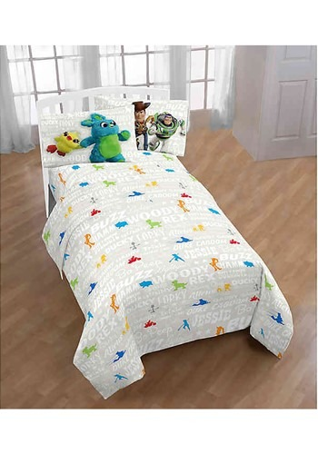 Toy Story 4 All The Toys Twin Bed Set