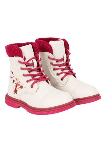 Olaf Leaf Girls Frozen Boot