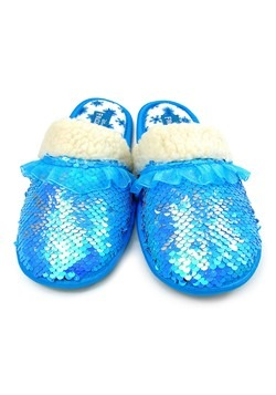 Frozen 2 Elsa Reverse Sequin Slippers
