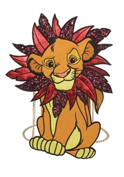 Danielle Nicole Lion King Simba Die Cut Crossbody Bag