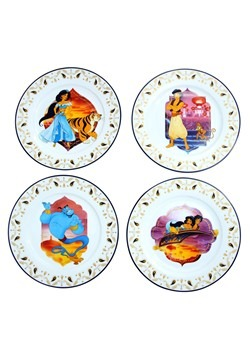 Aladdin Dinner Plates 4 Pack Set