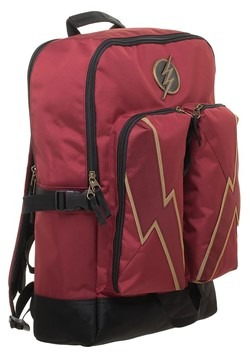 DC Comics Flash Double Pocket Backpack Alt 3