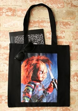 Chucky Image Capture Canvas Tote Update