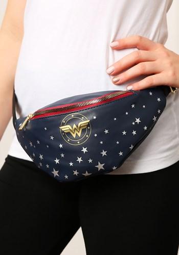 Wonder Woman Navy Fanny Pack new