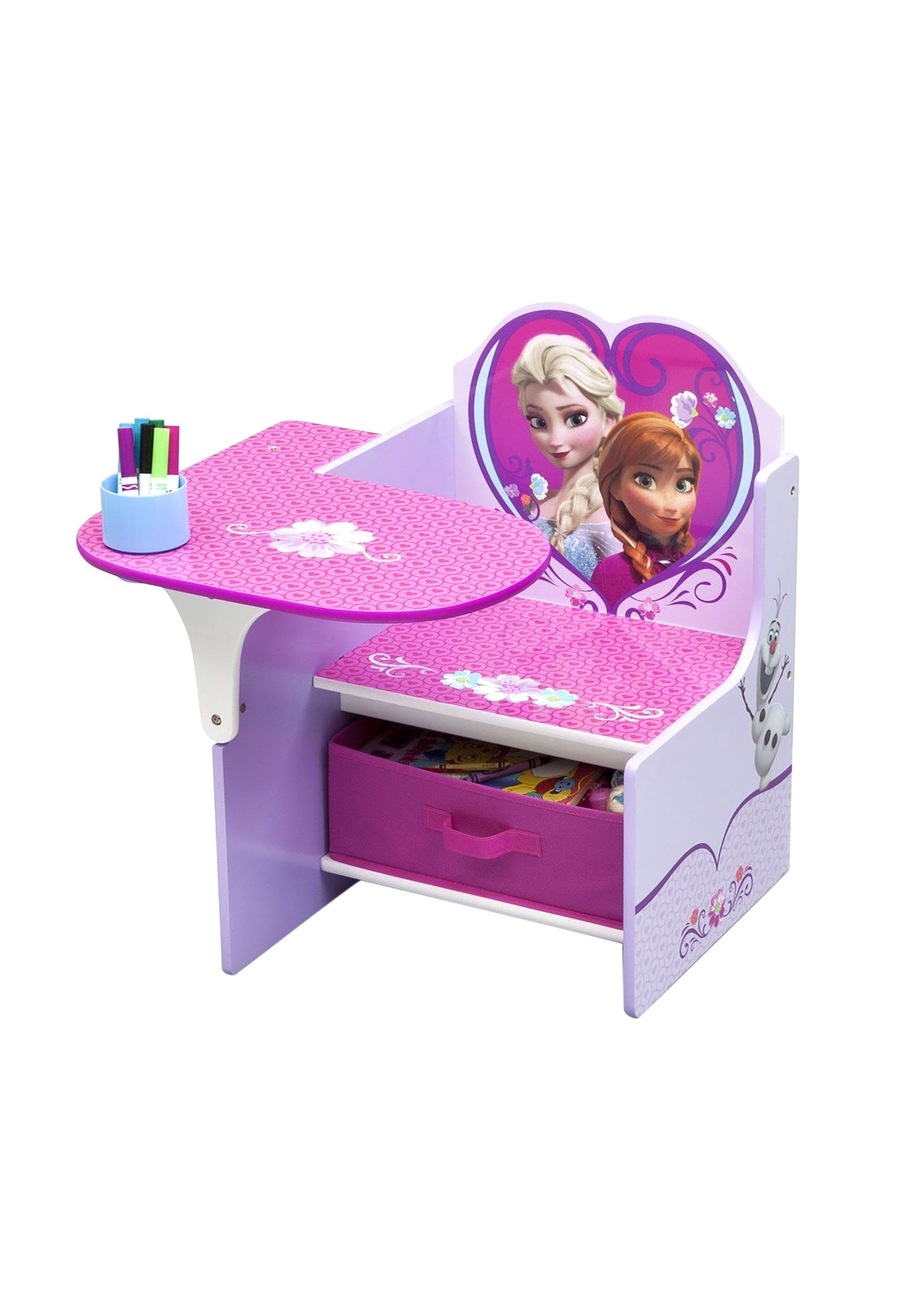 Enjoyable Frozen Chair Desk With Storage Bin Creativecarmelina Interior Chair Design Creativecarmelinacom