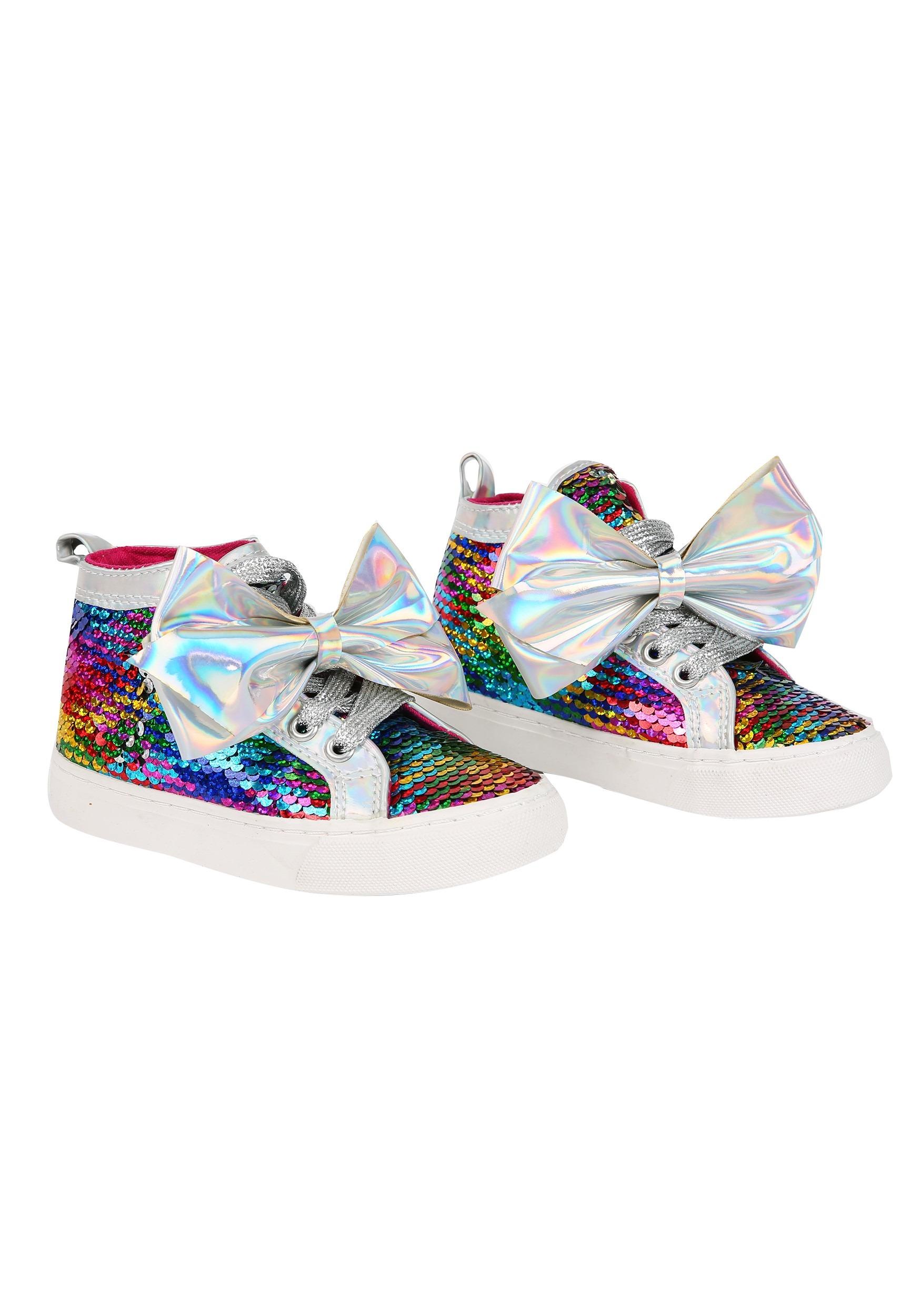 Jojo Siwa Rainbow Sequin Girls Sneaker