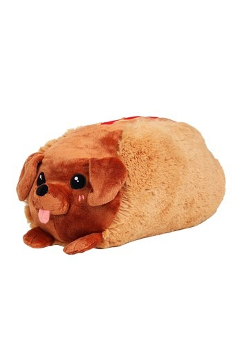 "Squishable 15"" Dachshund Hot Dog"