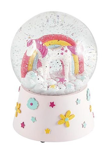 Unicorn | Globe | Decor | Snow