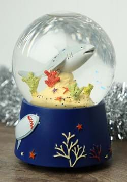 Musical Deep Sea Shark Snow Globe
