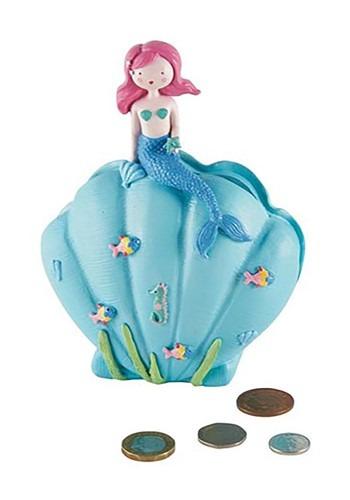 Mermaid Resin Money Bank