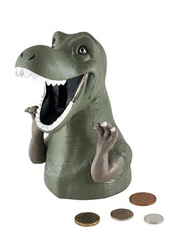 Dinosaur Resin Money Bank