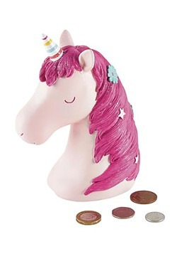 Unicorn Resin Money Bank