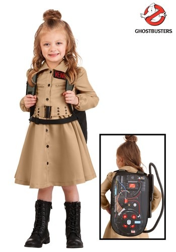 Ghostbusters Toddler Girls Costume Dress