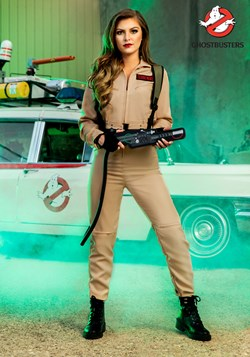 Ghostbusters Plus Size Women's Costume Jumpsuit