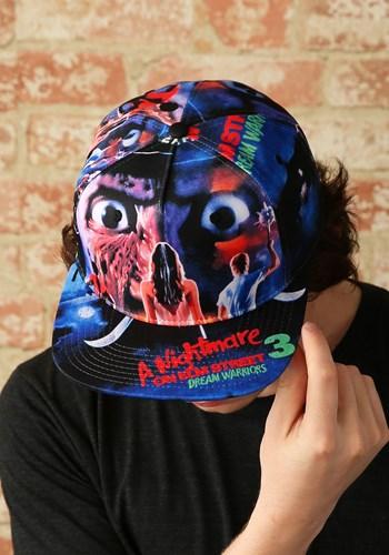 Nightmare on Elm Street Poster Adult Snapback Hat